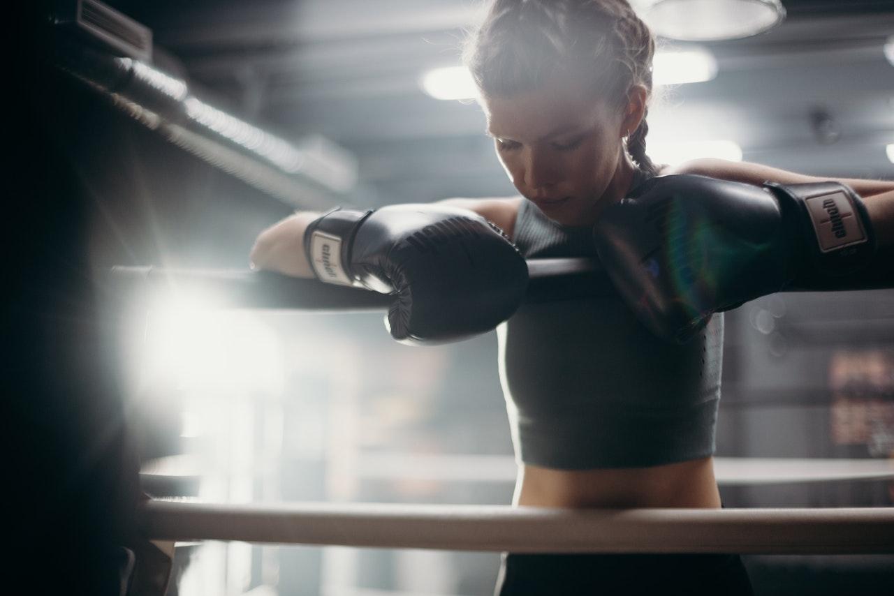 Kickboxing femme