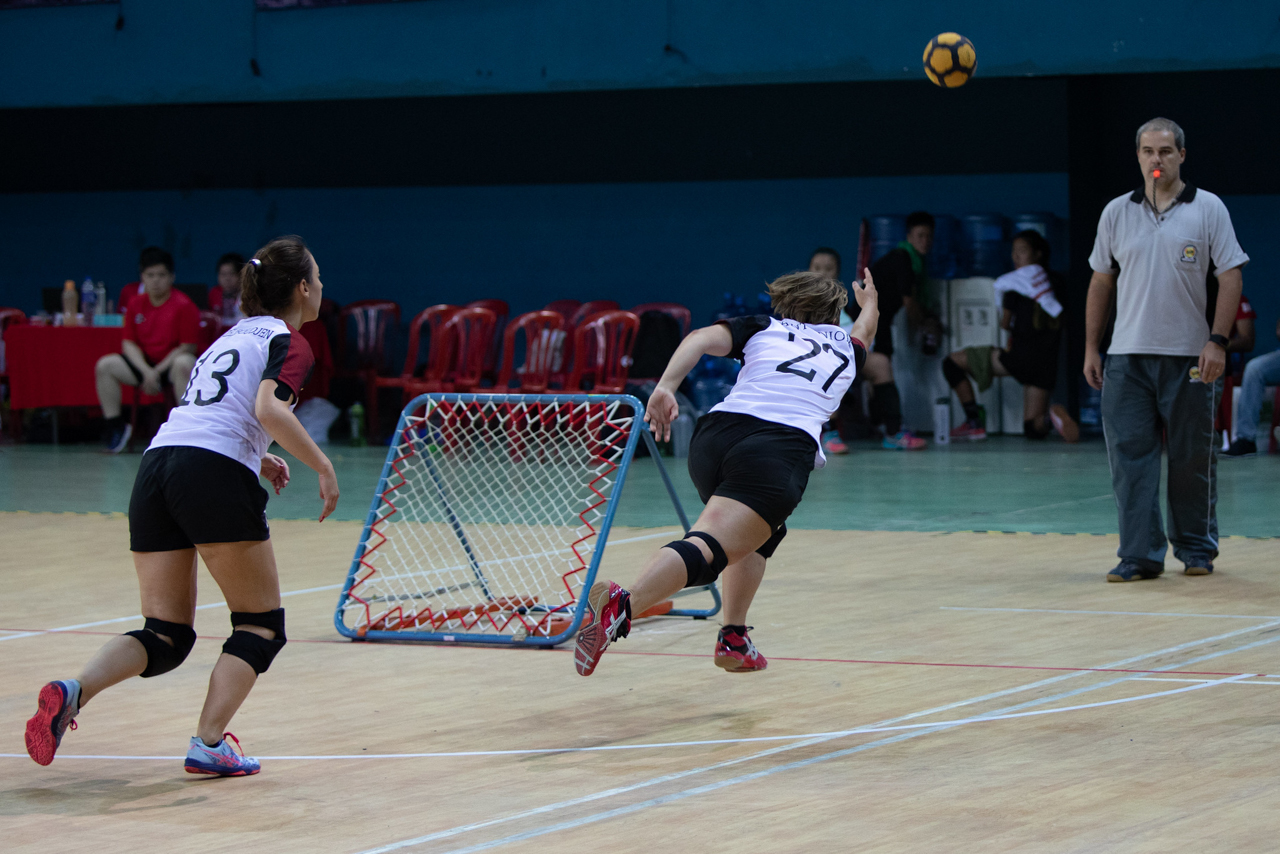 Le tchoukball féminin
